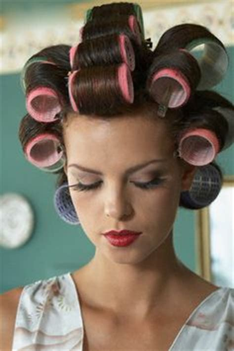 forced feminine haircuts in the beauty salon 1000 images about rollers on pinterest hair roller