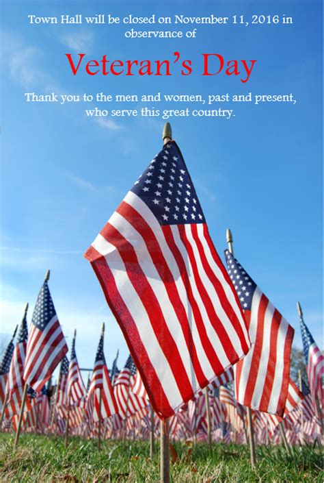 Are Post Offices Closed On Veterans Day by Town Closed On Veteran S Day The Town Of Stanley Nc