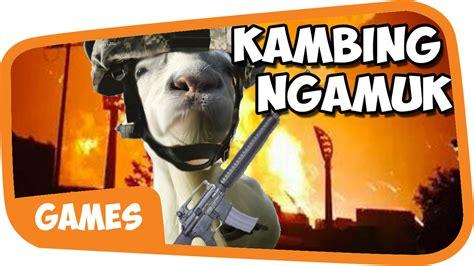 Kambing Kurban kambing kurban ngamuk wkwkwkwk goat simulator