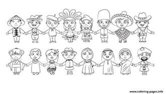 world kids nationalities blanc and white diversity