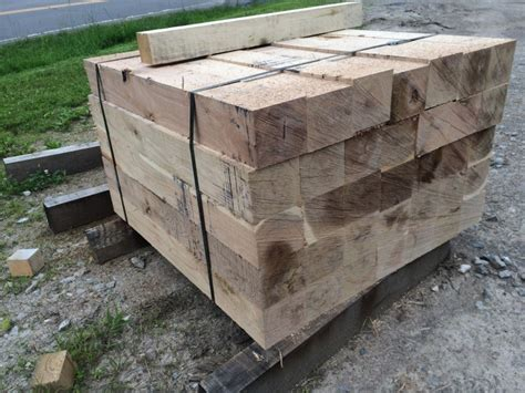 Timber Cribbing hardwood cribbing pipeline skid services