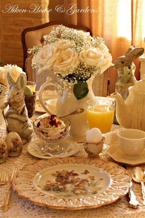 easter brunch table setting aiken house gardens a spring easter breakfast