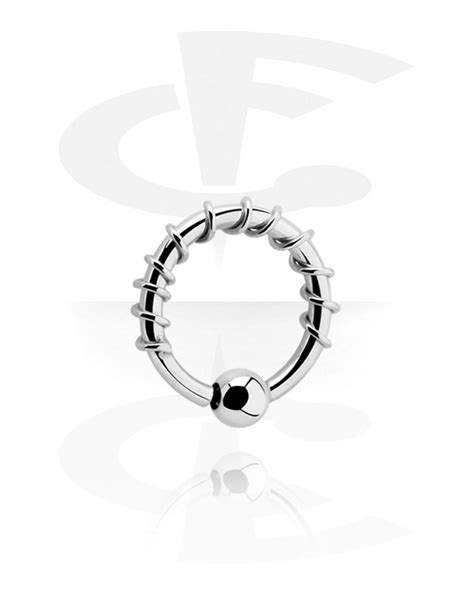fixed bead ring fixed bead ring surgical steel 316l factory