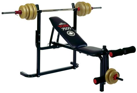 bench barbell benches flat adjustable benches gym equipment york barbell