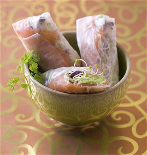 canapé au saumon fumé scenery pictures recette rouleau de printemps au