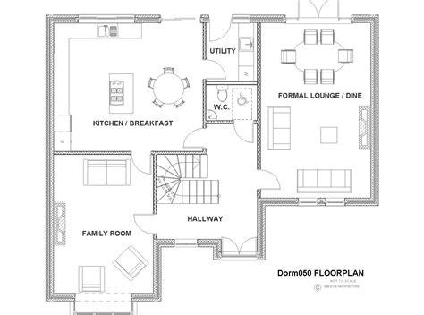4 bedroom house plans ireland dorm050