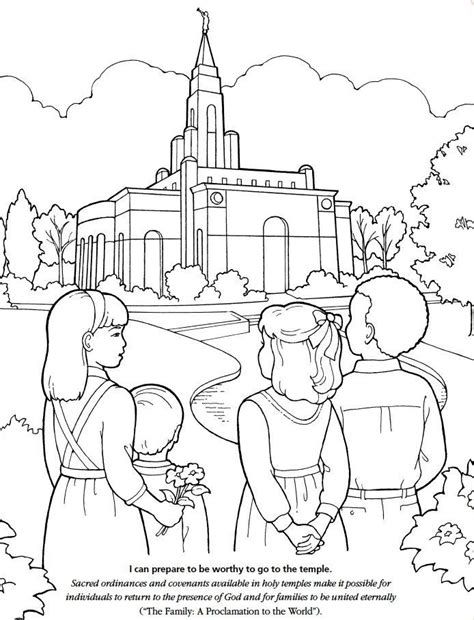 lds coloring pages i can be a good exle lds temple coloring pages az coloring pages