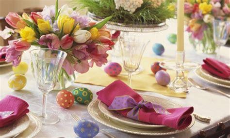tavola imbandita per pasqua tavola di pasqua tante idee per decorarla e festeggiare
