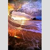 Colorful Ocean Sunset | 550 x 825 jpeg 88kB