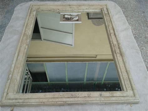 cornice a specchio cornice specchio in travertino a massello