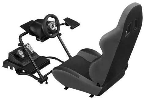supporto per volante e pedaliera 120 rs competition seat 232 un sedile per giochi di guida