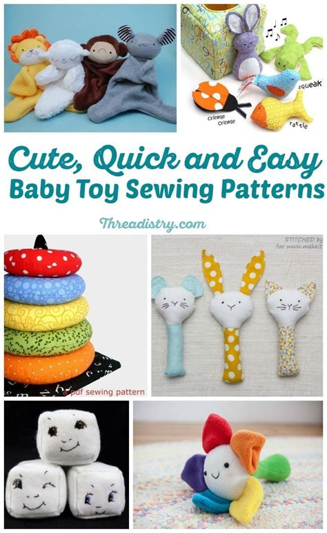 Handmade Baby Toys Patterns - the 25 best sewing toys ideas on stuffed toys