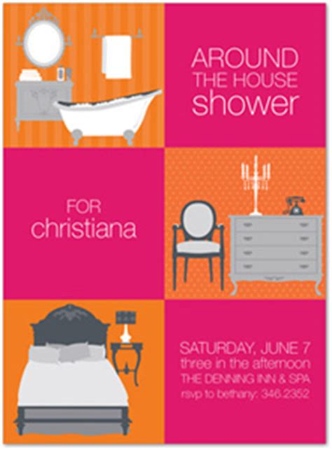 Around The House Bridal Shower by Around The House Bridal Shower Invitations Invitations Invitations