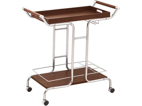 coaster accessories serving cart 910065 simply discount