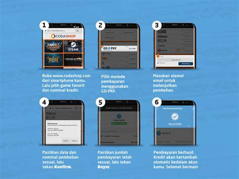 Codashop Usd | go jek indonesia blog go pay cara baru beli kredit