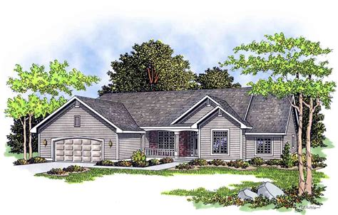ranch house plans with porch ranch house plan with country porch 8953ah architectural designs house plans