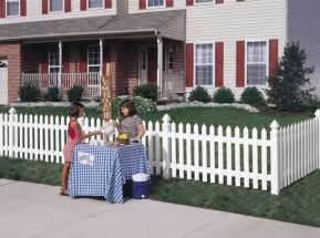 Cape Cod Home Colors - cape cod vinyl picket fence straight avinylfence com