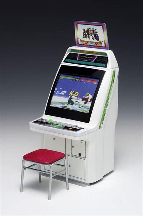 Astro City Cabinet 1 12 scale sega astro city arcade cabinet clutter magazine