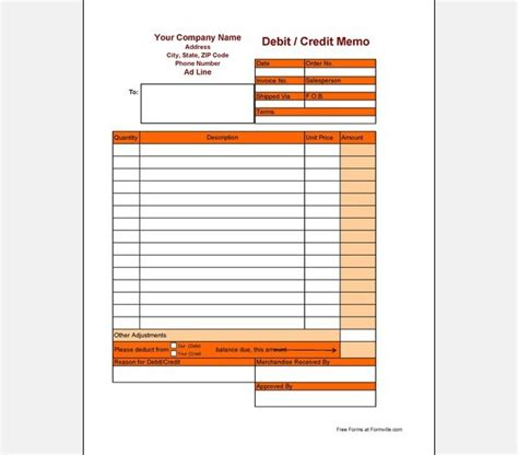 cash memo format of cash memo template sle templates