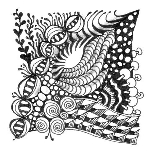 zentangle nutheadsarah zentangle patterns for beginners www imgkid com the