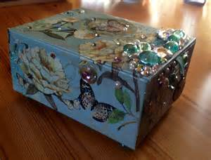 Decoupage Boxes - crafts decoupage box ideas
