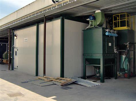 cabina di sabbiatura cabine di sabbiatura camit impianti di sabbiatura e