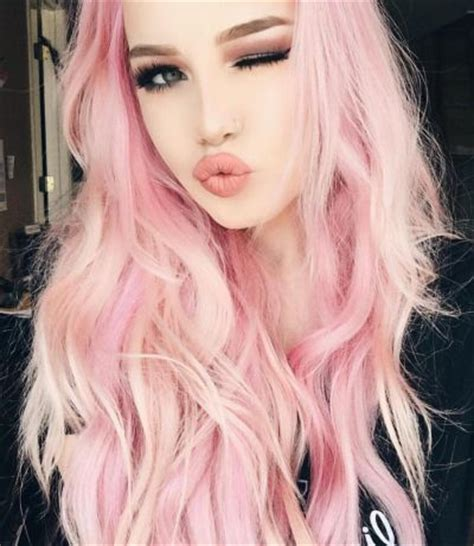 older women with platinum blonde pink hair 83 latest layered hairstyles for short medium and long hair