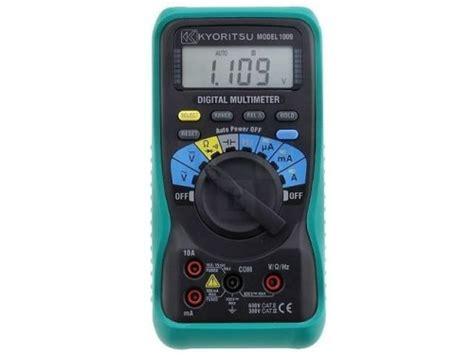 Multimeter Kyoritsu 1009 dmm multimeter kyoritsu 1009