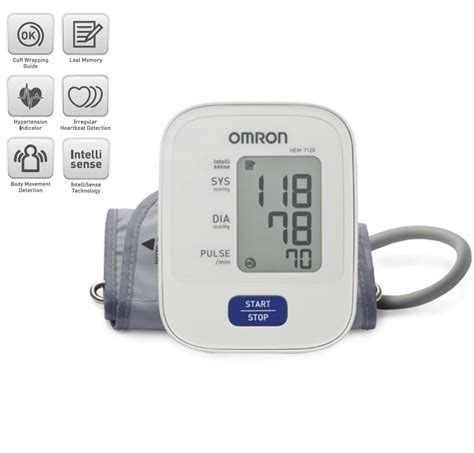 Omron Auto Blood Pressure Monitor by Omron Hem 7120 Automatic Blood Pressure Monitor Buy Omron