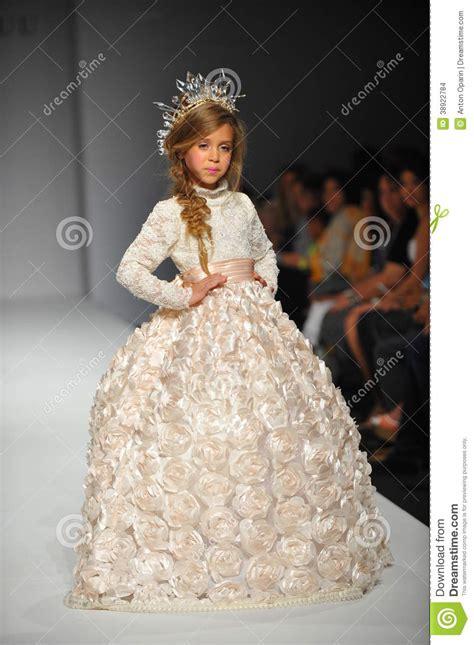 Much For La Fashion Week by A Child Walks Runway At Nancy Vuu Children Show Editorial