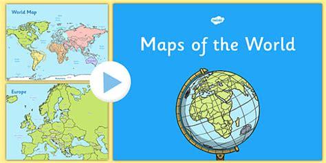 map world ks1 ks1 uk europe and world map presentation united kingdom
