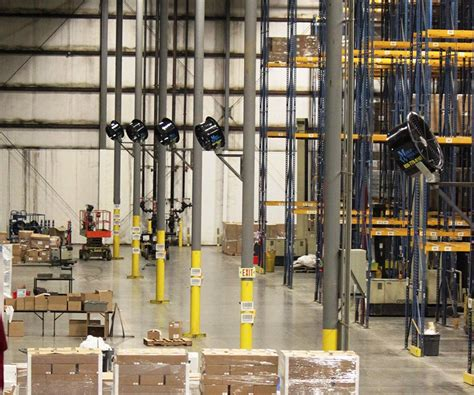 how to cool a warehouse with fans hsn distribution center mist works warehouse