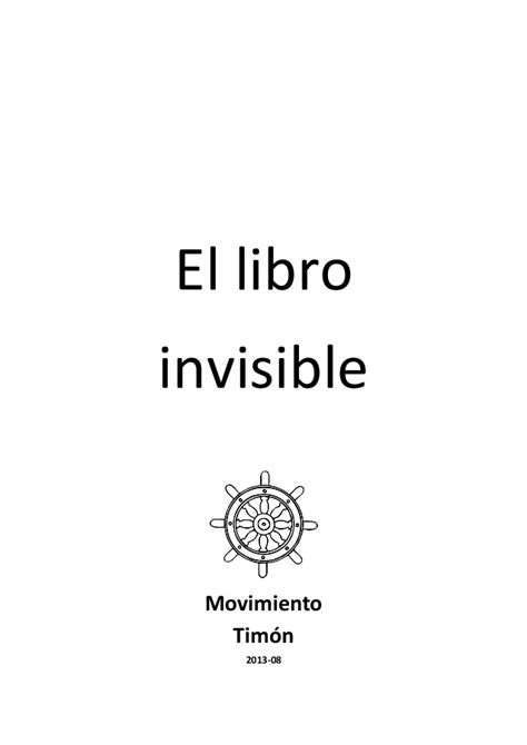 libro invisible el libro invisible