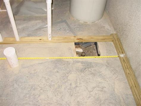 roughing in a basement bathroom basement rough in