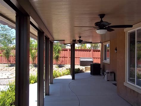 Weatherwood® Californian Solid Patio Covers   Duralum