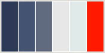 blue gray color palette dark brown hairs