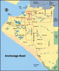 Anchorage Zip Code Map by Maps