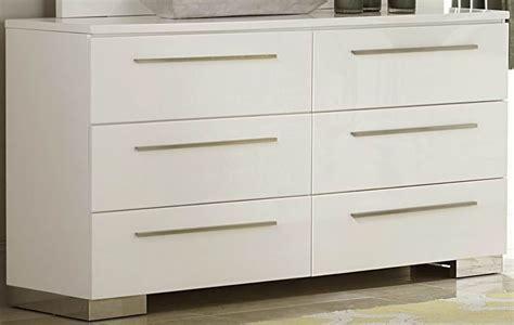 White High Dresser Linnea White High Gloss Dresser From Homelegance 1811w 5