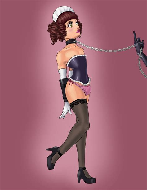 forced feminization art and drawings commission sissy maid by jollycricket on deviantart