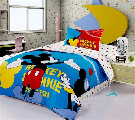 mickey mouse bedding office and bedroom best mickey