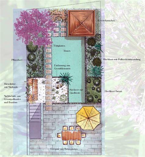 pflegeleichte gärten beispiele garten planung idee
