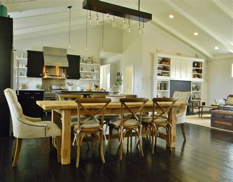 Houzz Dining Rooms by Photo Credit Kimberley Bryan 169 2013 Houzz Farmhouse