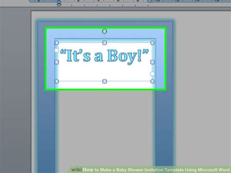 diy microsoft word invitation templates that you can make at home
