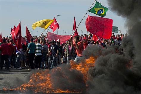 consolato brasiliano a solidariet 224 ai lavoratori brasiliani 12 giugno presidio