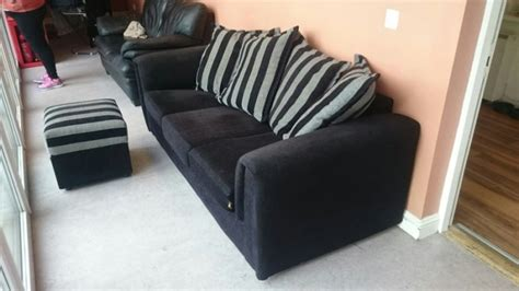 sofa with leg rest sofa in condition 3 seater with leg rest for sale in