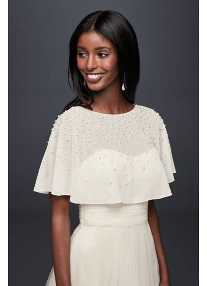 Buy This Look Bilsons Capelet by Pearl And Chiffon Capelet David S Bridal