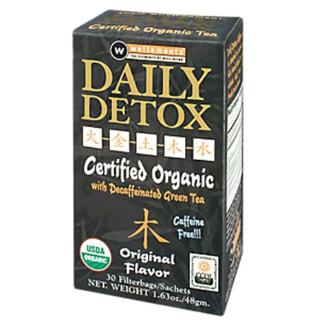 Daily Detox Tea Review by Product Image For Daily Detox Original Organic 30 Tea Bags