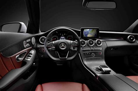 Mercedes Suv Interior Photos by 2015 Mercedes C Class W205 Interior Leaked