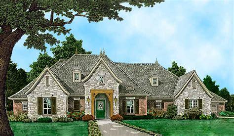 european house plans one spacious one level european house plan 48562fm