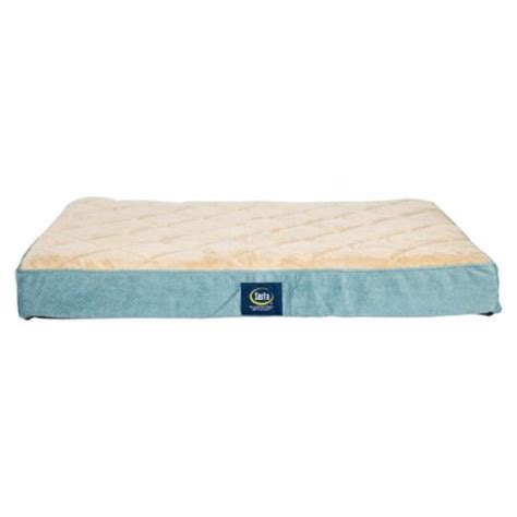 Serta Orthopedic Bed by Serta Orthopedic Quilted Pillowtop Bed Large Blue